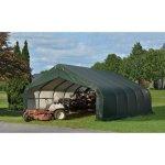 ShelterLogic-80006-Green-18x28x10-Peak-Style-Shelter-0