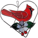 Stained-Glass-Red-Cardinal-on-Wire-Heart-Ring-0