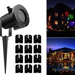 Tradinno-Christmas-LED-Projector-Light-Waterproof-12-Patterns-Slides-Holiday-Party-Lights-for-Birthday-Halloween-Garden-Decoration-0