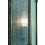 Troy-Lighting-Hoboken-1-Light-Outdoor-Wall-Light-Aged-Pewter-Finish-with-Frosted-Safety-Glass-0