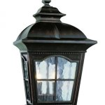 Two-Light-Antique-Rust-Clear-Water-Glass-Wall-Lantern-0-0