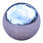 UShodor-9-PiecesSet-Stainless-Steel-Gazing-Ball-Mirror-Globe-Polished-Shiny-Sphere-for-Homes-and-Gardens-Ornament-0-2