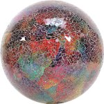 VCS-GLMTLF10-Mosaic-Glass-Gazing-Ball-TurquoiseLimeFuchsia-10-Inch-0