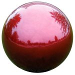 VCS-RED10-Mirror-Ball-10-Inch-Red-Stainless-Steel-Gazing-Globe-0