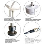Vogvigo-Wind-Generator-100200300400W-Three-phase-DC-1224-Volt-Wind-Turbine-Residential-Wind-Generator-35-Blade-Kit-Light-Weight-Generator-15-Years-Life-Span-0-0