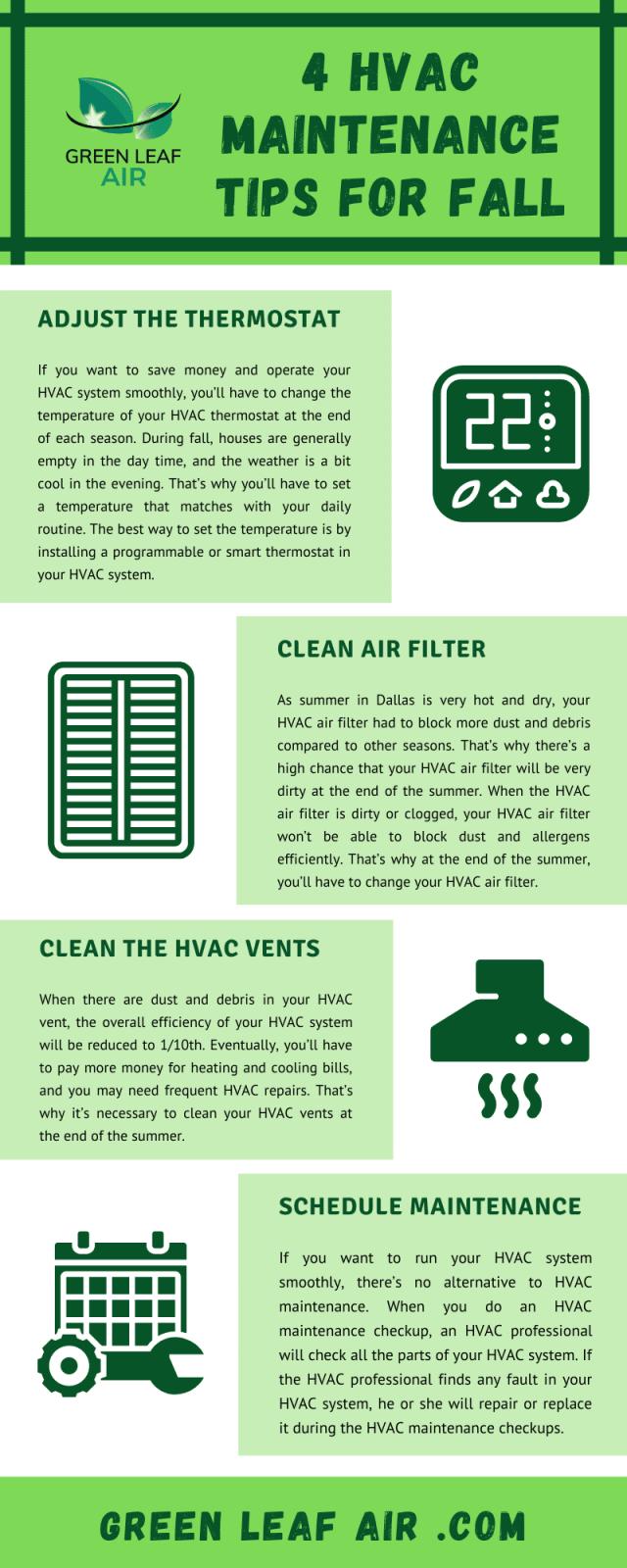 4 HVAC Maintenance Tips for Fall