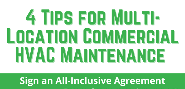 4 Tips for Multi-Location Commercial HVAC Maintenance