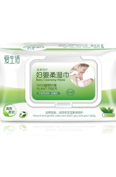 Woman Baby Cleansing Wipes 80P