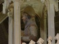Sculpture of knight, Lord Edward Despenser
