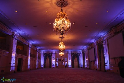 The Fairmont Olympic: the Spanish ballroom