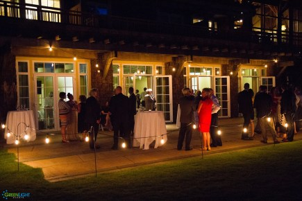 String lighting for Columbia Winery by GreenLight Events