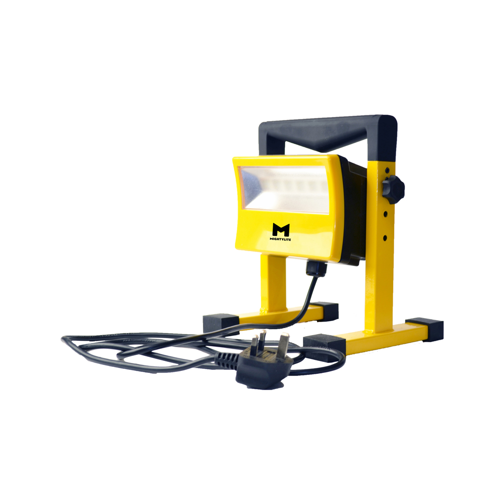 50W Mains LED Work Light w/ H-Stand