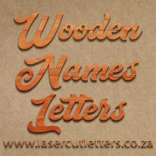 Wooden Names Western Cape