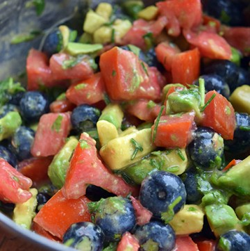 Blueberry-Avocado Salsa