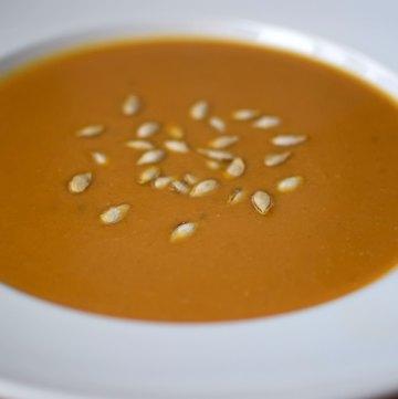Panera-Inspired Butternut Squash Soup portrait