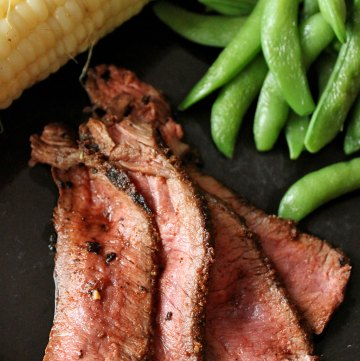 Dry Rubbed Pan-Fried London Broil Portrait