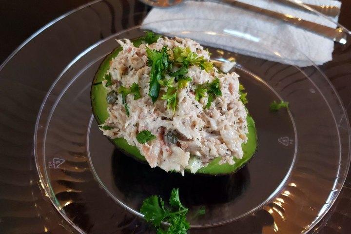 Date Night In - Crab Stuffed Avocado
