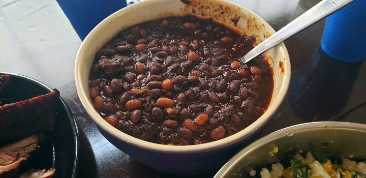 Slow Cooked Beans