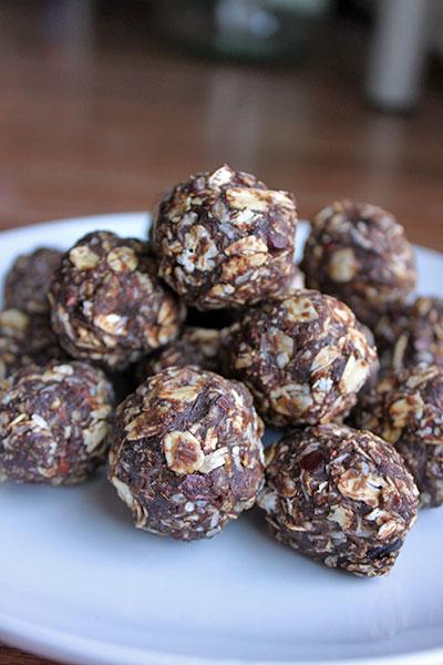 Chocolate-Coconut Energy Balls - Portrait