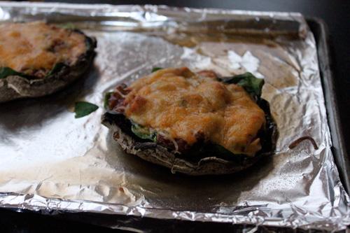 Mexican Style Portobello Mushroom Pizza - step 4