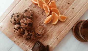 Vegan μπισκότα βρώμης με πορτοκάλι και ινδοκάρυδο