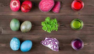 Φέτος βάφουμε τα αυγά για το Πάσχα οικολογικά