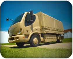 electric truck for the marines from Smith Electric Vehicles