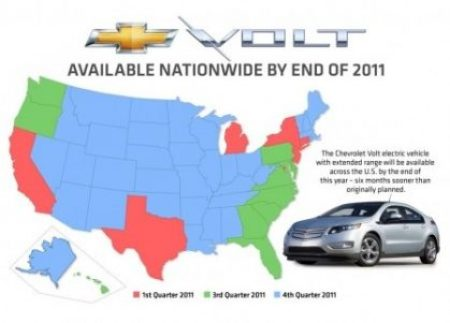 Volt goes nationwide