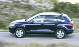 Volkswagen Toureg Going electric? Hope so