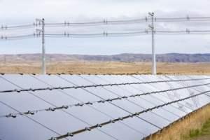 first solar installation