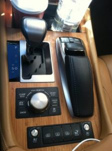 Lexus 600h L Limited Hybrid Electric Car
