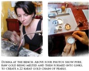 Donna DiStefano Working