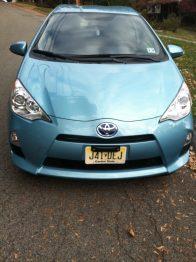 Toyota Prius C fuel economy