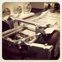 Model S undercarriage