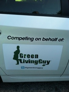 Green Living Guy plugin Prius magnet