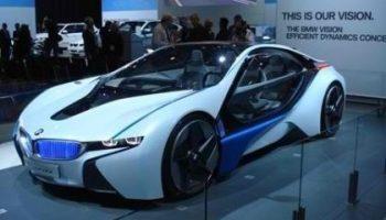 BMW i8 Plugin Hybrid Electric Car