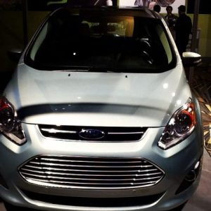 Ford CMAX Energi plugin hybrid electric car
