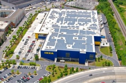 Ikea Increases Solar System More Than 50 Atop Stoughton Ma Store