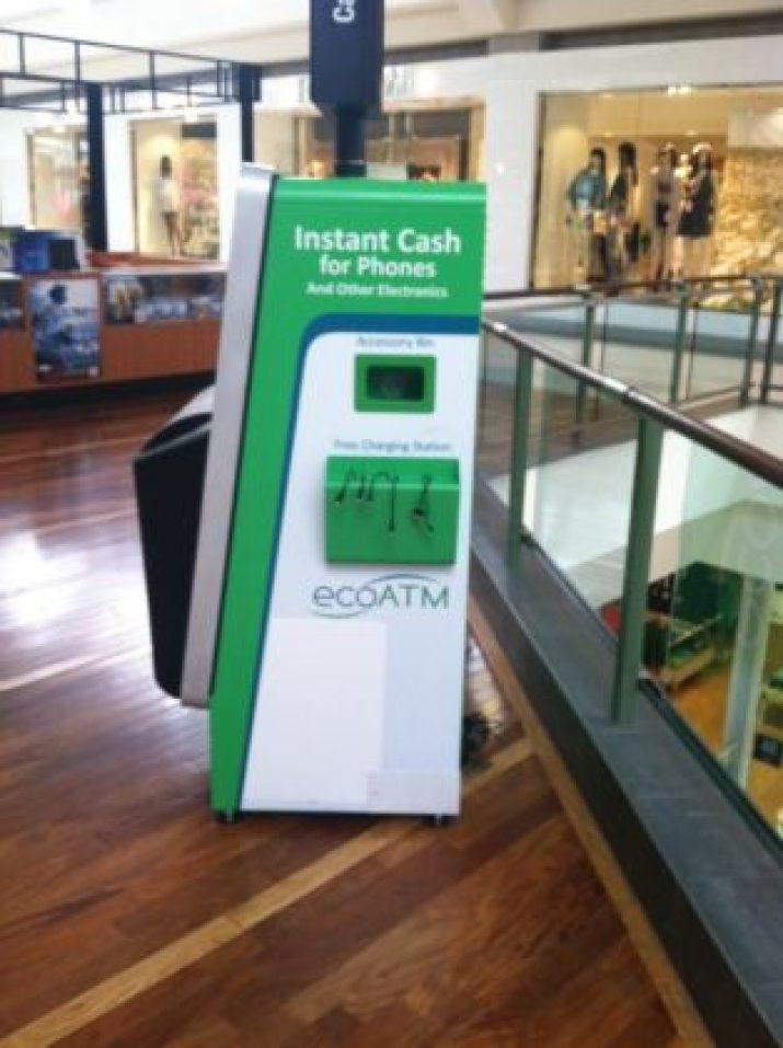 ecoATM recycling bin