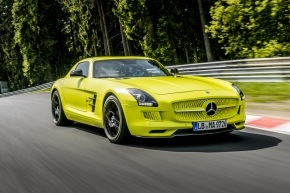 "Mercedes AMG electric ""green hell"""