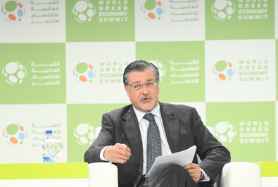 IRENA's Director-General, Adnan Z. Amin, urged the international community to fast-track renewable energy in the fight against climate change at the World Green Economy Summit in Dubai