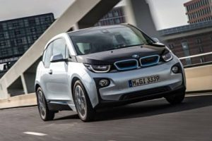The all-electric BMW i3 is featured in a 60-second spot during Super Bowl XLIX on Sunday, February 1, 2015. (01/2015)