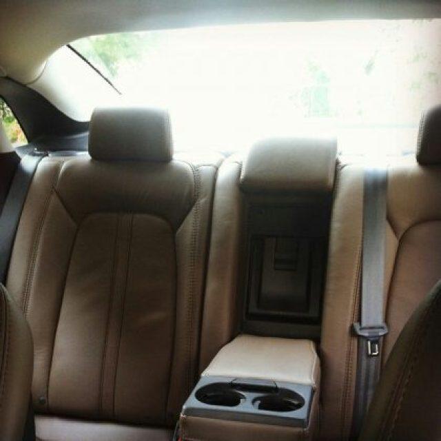 Lincoln MKZ hybrid electric car