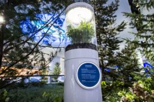Ford donates elements of the display to Detroit's Belle Isle Park and to North Star Reach, a nonprofit organization that provides a year-round camp for children with serious and life-threatening illnesses