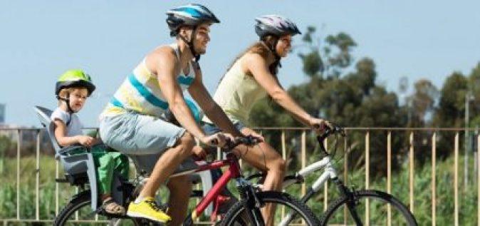Go biking for recreation.