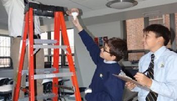 Spending Less on Energy and More on Students using LED Lunera lighting
