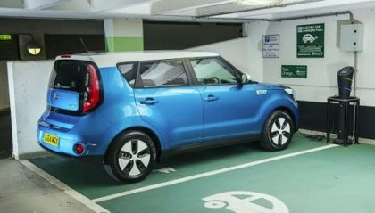 Kia Soul electric car