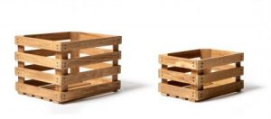 apple crates from kaufmann mercantile