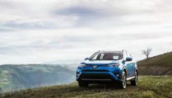 Toyota RAV4 hybrid electric car