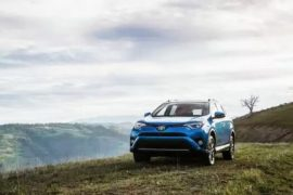Toyota RAV4 hybrid electric car